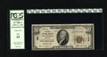 National Bank Notes:Kentucky, Louisville, KY - $10 1929 Ty. 1 The First NB Ch. # 109. This wasthe first national bank chartered in the state. PCGS ...