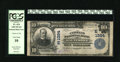 National Bank Notes:Maryland, Baltimore, MD - $10 1902 Plain Back Fr. 624 The Citizens NB Ch. #(E)1384. Cashier Joseph Oberle's purple stamped signat...