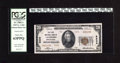 National Bank Notes:Pennsylvania, Lansford, PA - $20 1929 Ty. 2 The First NB Ch. # 5234. Pronounedembossing is viewed through the third-party holder on t...