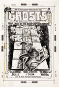 Original Comic Art:Covers, Nick Cardy - Ghosts #3 Cover Original Art (DC, 1972). ...