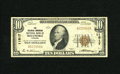 National Bank Notes:Virginia, Roanoke, VA - $10 1929 Ty. 1 The Colonial-American NB Ch. # 11817.Officers are Geo. N. Dickinson and E.W. Tinsley. Ve...