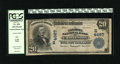 """National Bank Notes:West Virginia, Charleston, WV - $20 1902 Plain Back Fr. 654 The Kanawha NB Ch. # (S)4667. """"Kanawha"""" is an Indian name meaning """"place o..."""
