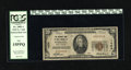 National Bank Notes:West Virginia, Wheeling, WV - $20 1929 Ty. 1 The NB of West Virginia Ch. # 1424.Officers are A.E. Schmidt and W.B. Irvine. PCGS Fine...