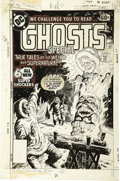 "Original Comic Art:Covers, Luis Dominguez - DC Special Series #7 ""Ghosts"" Cover Original Art(DC, 1977). ..."