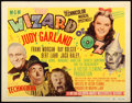 "Movie Posters:Fantasy, The Wizard of Oz (MGM, R-1949). Title Lobby Card (11"" X 14"").. ..."