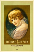 "Movie Posters:Miscellaneous, Corinne Griffith Personality Poster (Vitagraph, 1918). One Sheet(27"" X 41.5"").. ..."