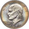 Eisenhower Dollars, 1977-D $1 MS67 PCGS....