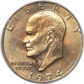 Eisenhower Dollars, 1974-D $1 MS67+ PCGS....