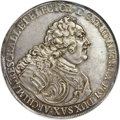 "German States:Saxony, German States: Saxony. Friedrich August II ""Vicariate"" Taler 1740MS63 NGC,..."