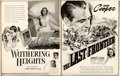 "Movie Posters:Miscellaneous, United Artists Exhibitor Book (United Artists, 1938-1939).Hardcover Exhibitor Book (Multiple Pages, 11.5"" X 14.25"").. ..."