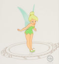 Animation Art:Limited Edition Cel, Peter Pan Tinker Bell Sericel (Walt Disney, 1990)....
