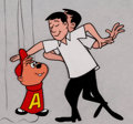 Animation Art:Production Cel, The Alvin Show Dave and Alvin Production Cel and DrawingGroup of 5 (Format Films/UPA, 1961). ... (Total: 5 Original Art)