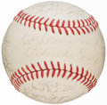 Autographs:Baseballs, 1968 St. Louis Cardinals Team Signed Baseball. ...