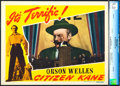 "Movie Posters:Drama, Citizen Kane (RKO, 1941). CGC Graded Lobby Card (11"" X 14"").. ..."