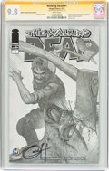 Modern Age (1980-Present):Horror, Walking Dead #1 Wizard World Cleveland Sketch Edition - SignatureSeries (Image, 2015) CGC NM/MT 9.8 White pages....