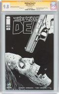 Modern Age (1980-Present):Horror, Walking Dead #1 Wizard World Pittsburgh Sketch Edition - SignatureSeries (Image, 2015) CGC NM/MT 9.8 White pages....