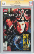 Modern Age (1980-Present):Science Fiction, The X-Files #16 Signature Series (Topps Comics, 1996) CGC NM+ 9.6White pages....