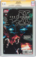 Modern Age (1980-Present):Science Fiction, The X-Files #28 Signature Series (Topps Comics, 1997) CGC NM 9.4White pages....