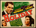 """Movie Posters:Comedy, Holiday (Columbia, 1938). Title Lobby Card (11"""" X 14"""").. ..."""