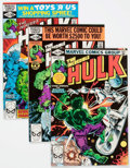Modern Age (1980-Present):Superhero, The Incredible Hulk #250-259 Box Lot (Marvel, 1980-81) Condition:Average VF/NM.... (Total: 2 Box Lots)