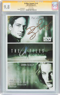 Modern Age (1980-Present):Science Fiction, The X-Files: Season 11 #1 Signature Series (IDW Publishing, 2015)CGC NM/MT 9.8 White pages....