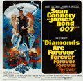 "Movie Posters:James Bond, Diamonds are Forever (United Artists, 1971). International Six Sheet (77"" X 79"").. ..."