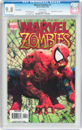 Modern Age (1980-Present):Superhero, Marvel Zombies #1 Variant Edition (Marvel, 2006) CGC NM/MT 9.8White pages....