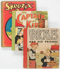 Platinum Age Comics Hardcover Group of 4 (Various, 1925-1934) Condition: Average VG.... (Total: 4 Items)