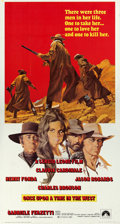 "Movie Posters:Western, Once Upon a Time in the West (Paramount, 1969). Three Sheet (41"" X 77"").. ..."