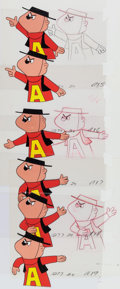Animation Art:Production Cel, The Alvin Show Dave and Alvin Production Cel and DrawingGroup (Format Films/UPA, 1961).... (Total: 12 Original Art)
