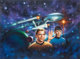 Keith Birdsong Star Trek: The Game Box Art Cover Illustration Original Art (Classic Games, 1992)