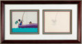 Animation Art:Production Cel, DuckTales Uncle Scrooge Production Cel Setup (Walt Disney,1987). ...