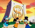 Animation Art:Production Cel, Scrooge McDuck and Friends Television Commercial ProductionCel (Walt Disney, c. 1980s)....