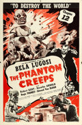 "Movie Posters:Serial, The Phantom Creeps (Universal, 1939). One Sheet (27"" X 41"") Chapter12 -- ""To Destroy the World."". ..."