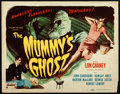 """Movie Posters:Horror, The Mummy's Ghost (Realart, R-1951). Title Lobby Card (11"""" X 14"""").. ..."""