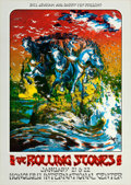 "Movie Posters:Rock and Roll, The Rolling Stones (Bill Graham & Barry Fey, 1973). ConcertPoster (20.25"" X 28.5"").. ..."