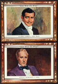 "Movie Posters:Academy Award Winners, Gone with the Wind (MGM, R-1968). Promotional Lobby Portrait Set of4 (16.75"" X 23"") & Promotional Lobby Poster (50"" X 62"")....(Total: 5 Items)"