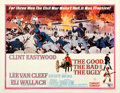 """Movie Posters:Western, The Good, the Bad and the Ugly (United Artists, 1968). Half Sheet (22"""" X 28"""").. ..."""
