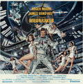 "Movie Posters:James Bond, Moonraker (United Artists, 1979). International Six Sheet (76"" X79"").. ..."