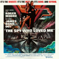 "Movie Posters:James Bond, The Spy Who Loved Me (United Artists, 1977). International SixSheet (81"" X 81"").. ..."