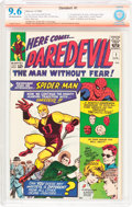 Silver Age (1956-1969):Superhero, Daredevil #1 Verified Signature (Marvel, 1964) CBCS NM+ 9.6Off-white to white pages....