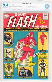 The Flash Annual #1 (DC, 1963) CBCS NM 9.4 Off-white to white pages
