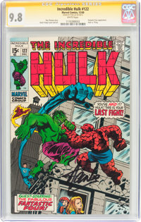 The Incredible Hulk #122 Signature Series (Marvel, 1969) CGC NM/MT 9.8 White pages