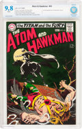 Silver Age (1956-1969):Superhero, The Atom and Hawkman #43 (DC, 1969) CBCS NM/MT 9.8 White pages....