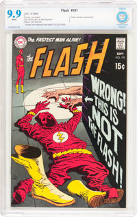 The Flash #191 (DC, 1969) CBCS MT 9.9 White pages