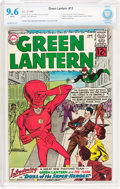 Silver Age (1956-1969):Superhero, Green Lantern #13 (DC, 1962) CBCS NM+ 9.6 White pages....