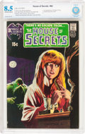 Bronze Age (1970-1979):Horror, House of Secrets #92 (DC, 1971) CBCS VF+ 8.5 Off-white to white pages....