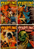 Pulps:Science Fiction, Startling Stories Box Lot (Standard, 1941-55) Condition: AverageVG+....