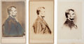 """Photography:CDVs, Abraham Lincoln: """"Penny Profile"""" Portrait in Three Versions.... (Total: 3 Items)"""