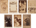 Photography:CDVs, Abraham Lincoln: Assorted Cartes-de-Visite.... (Total: 7 Items)